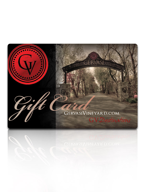Gervasi Vineyard Gift Cards