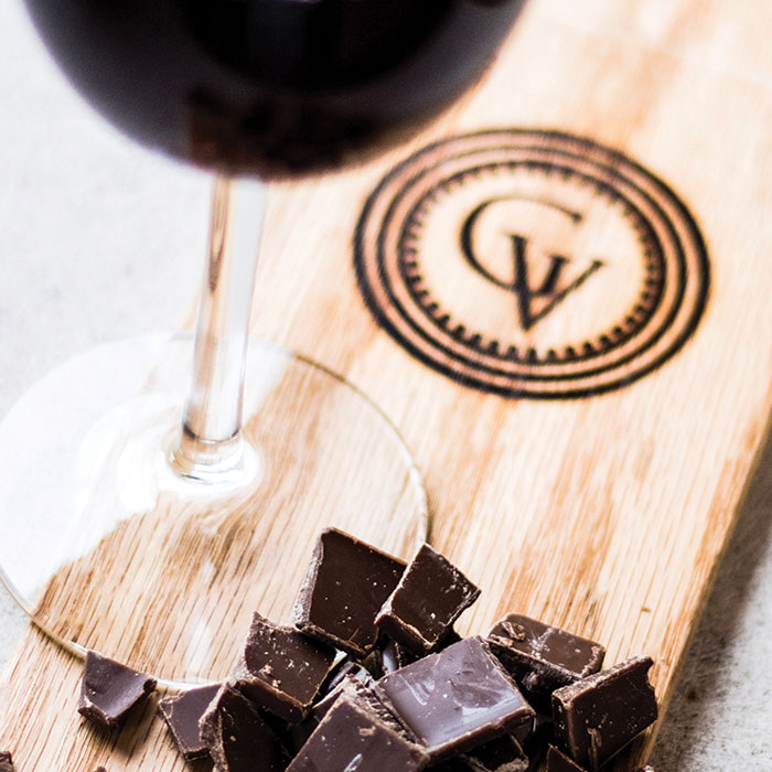 Chocolate Wine Pairing - April 18 at 3 pm